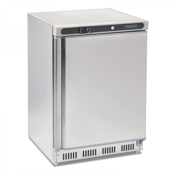Gewerblicher Kühlschrank aus Edelstahl 150 Liter