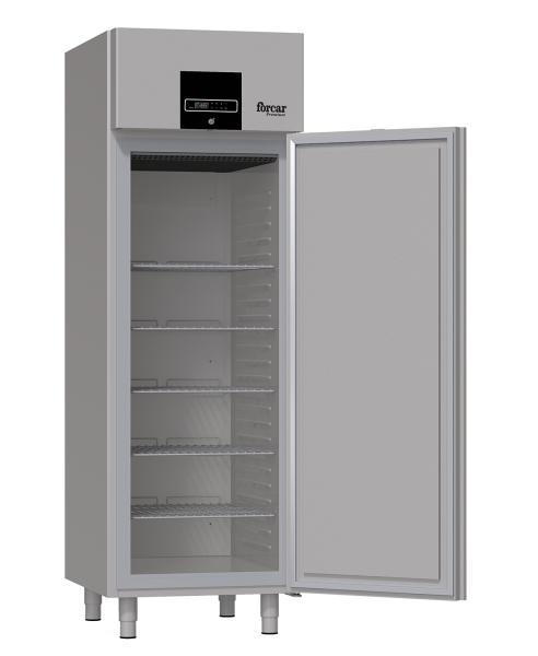 Günstiger Gastronomie Edelstahl Tiefkühlschrank Premium 700 Liter offen