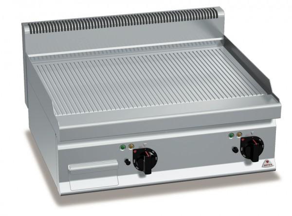 Gastro Gasgrill Gerillte  Bratplatte Tischgerät 13,8kW