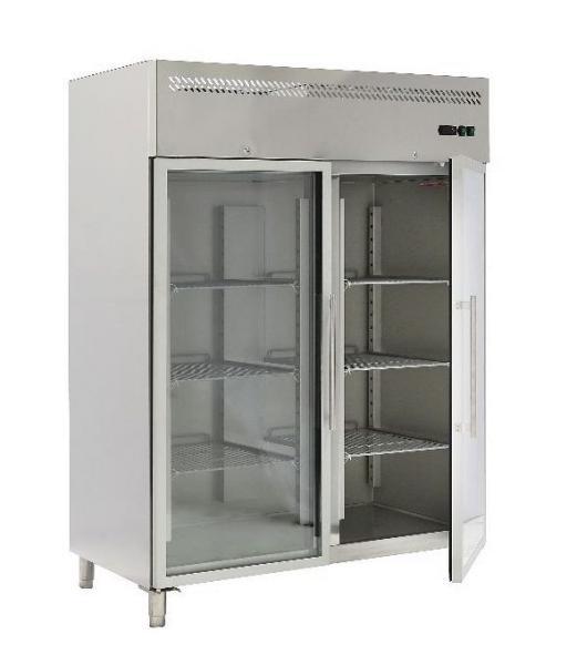 Günstiger Gastronomie Edelstahl Kühlschrank 1400 Liter