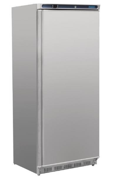 Gewerblicher Gefrierschrank aus Stahlblech weiß 600 Liter