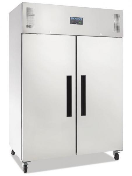 Gewerblicher Kühlschrank aus Edelstahl 1200 Liter