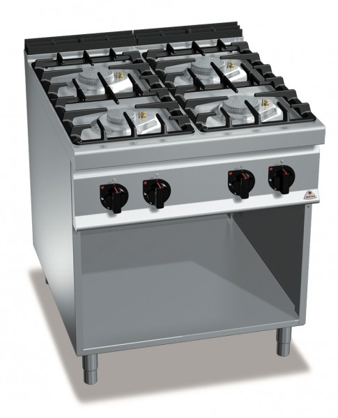 Gastronomie Gasherd ECO-POWER 32kW mit Pilotflamme