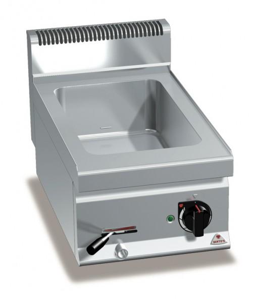Bertos Gastronomie Wasserbad mit einer GN1/1 Wanne als Tischgerät 1,5kW