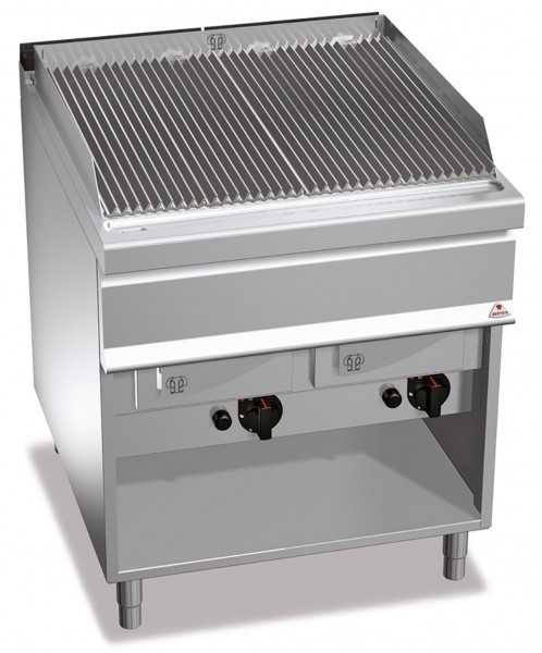 Gastro Gas-Wassergrill mit Gusseisen-Roste Leistung 24kW 900er Serie