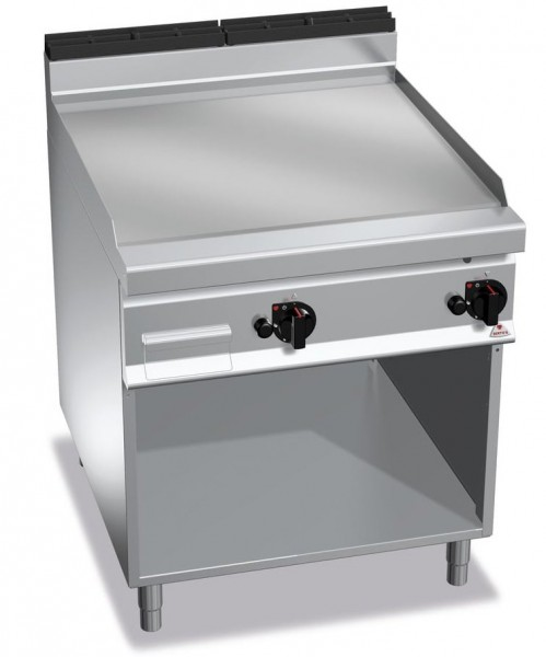 Gastro Gasgrill Glatte Bratplatte 20kW serie900er