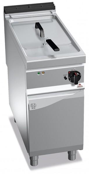 Bertos Gastronomie Elektro-Fritteuse mit einer 18 Liter Wanne als Standgerät 18kW