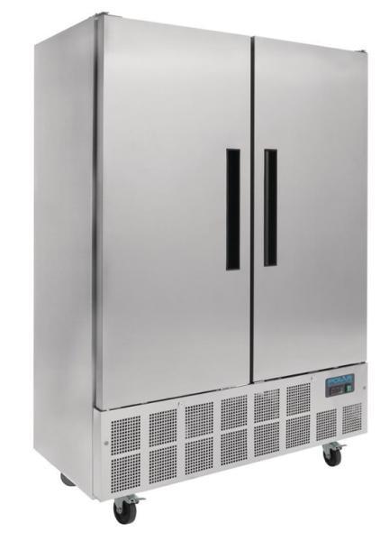 Gewerblicher Kühlschrank aus Edelstahl 960 Liter