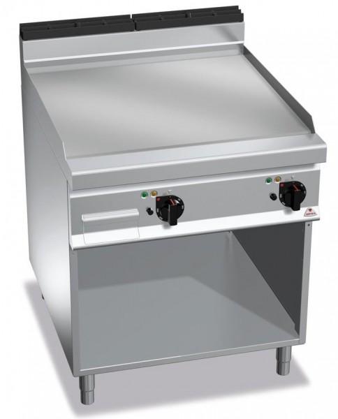 Günstige Gastronomiegeräte Elektrogrill Glatte Bratenplatte 11,4kW Serie 900er