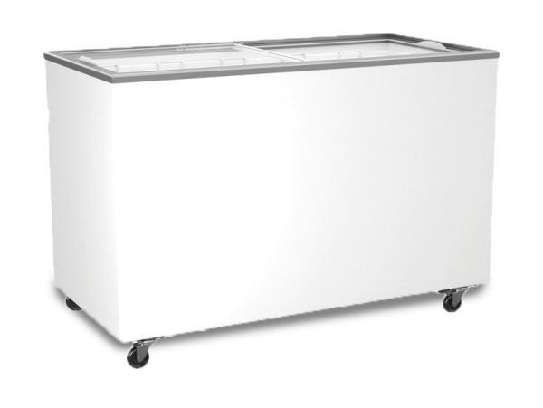 Tiefkühltruhe mit Glasschiebedeckel 359 Liter