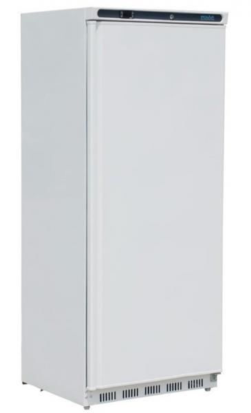 Gewerblicher Kühlschrank aus Stahlblech weiß 600 Liter
