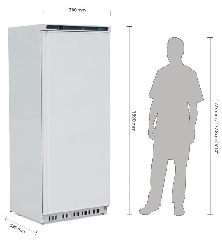 ACD6141 Kühlschrank 600Liter weiß