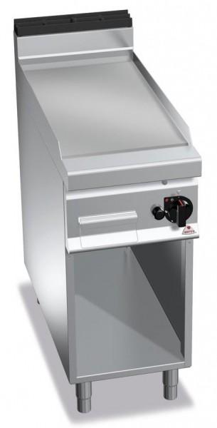 Gastro Gasgrill Chrom Glatte Bratplatte 10kW Serie 900er