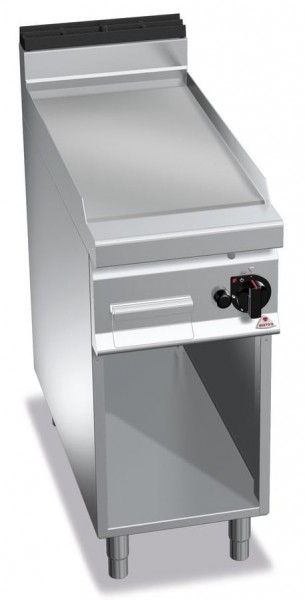Gastro Gasgrill Glatte Bratplatte 10kW Serie 900er