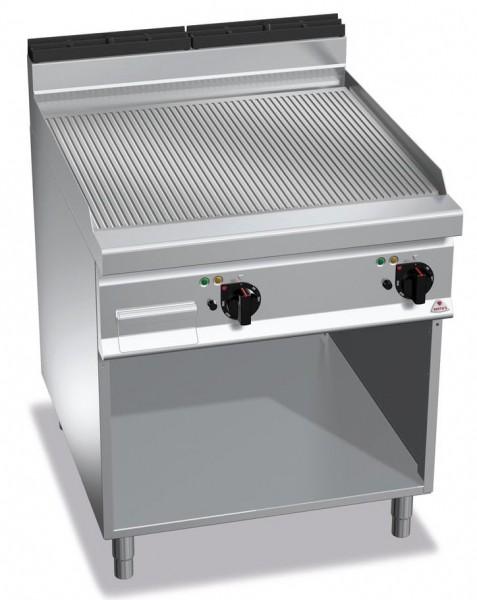 Günstige Gastronomie Elektro-Grillgerät Gerillte Bratenplatte 11,4kW