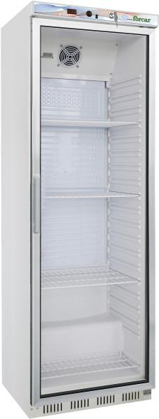 Günstiger Gastronomie Kühlschrank 400 Liter mit Glastür