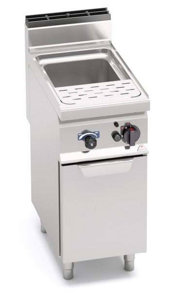 Gas-Nudelkocher 30 Liter Wanne 10kW mit Wasseranschluss