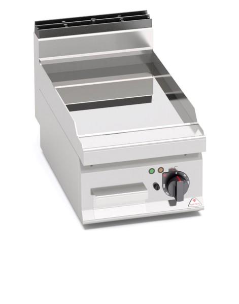 Gastro Elektro Grillgerät Glatte/Chrom BratenplatteTischgerät Leistung 4,8kW