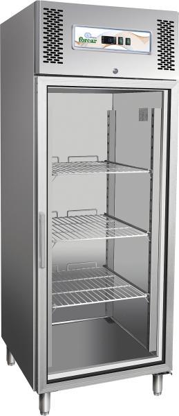 Professional Edelstahl Tiefkühlschrank 650 Liter