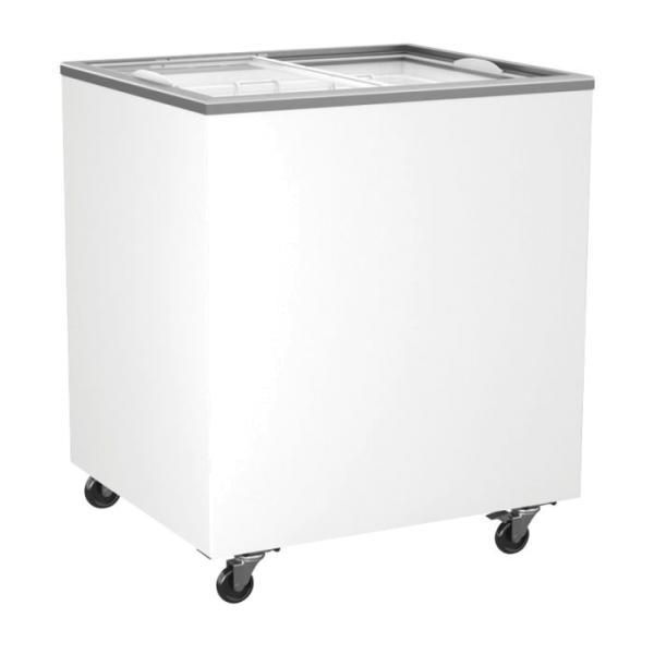 Tiefkühltruhe mit Glasschiebedeckel 276 Liter