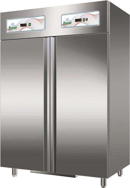 Gastronomie Professional Kühl- /Tiefkühlschrank Kombination 1200 Liter 2 Temperaturzone