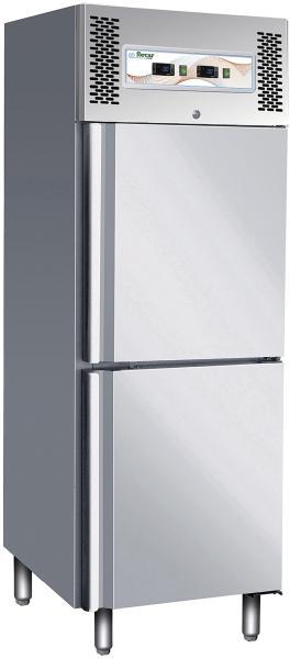 Gastronomie Professional Kühl- /Tiefkühlschrank Kombination 600 Liter 2 Temperaturzone