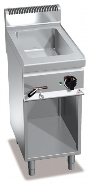 Bertos Gastronomie Wasserbad mit einer GN1/1 Wanne als Standgerät 1,5kW