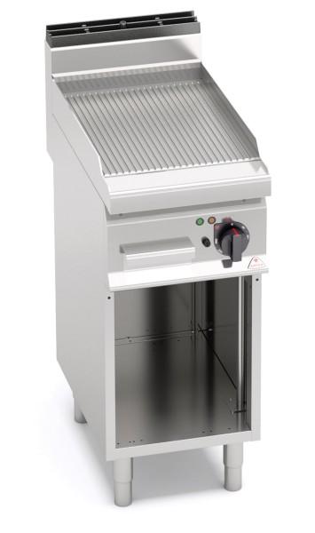 Gastronomie Elektro-Grillgerät Gerillte Bratenplatte 4,8kW
