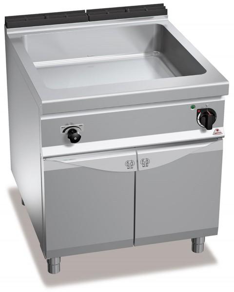 Bertos Gastronomie Wasserbad mit einer GN2-1 Wanne als Standgerät 3kW