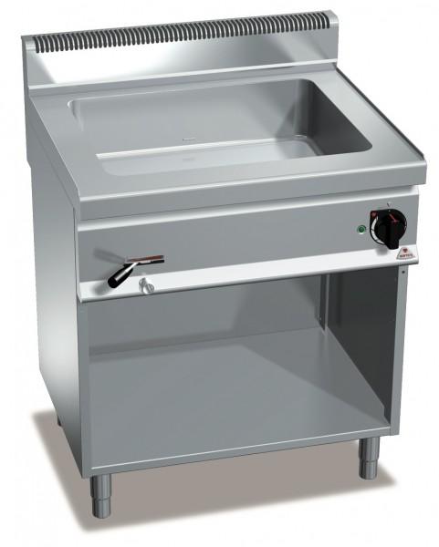 Bertos Gastronomie Wasserbad mit einer GN2/1 Wanne als Standgerät 3kW