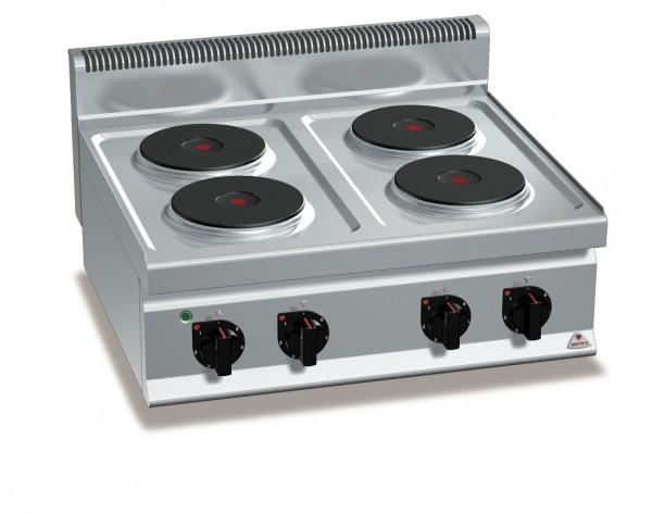 Gastro E-Herd 4 Platten Tischgerät 10,4kW