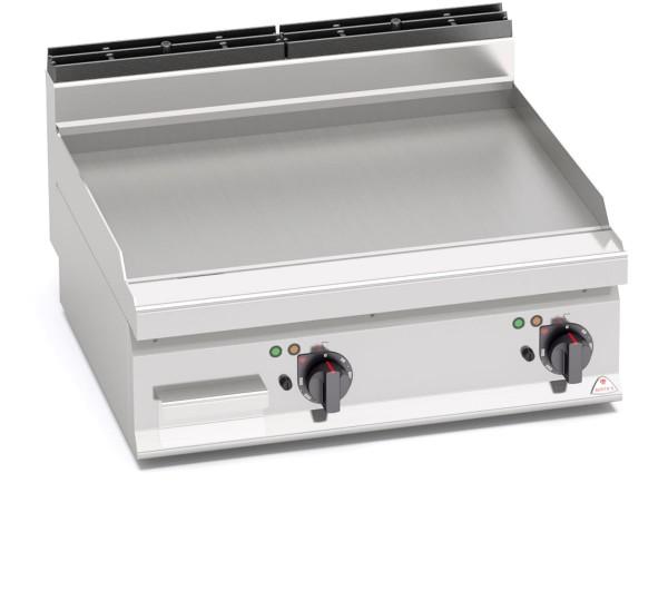 Gastronomie Elektro Tisch-Grillgerät Glatte Bratenplatte 9,6kW