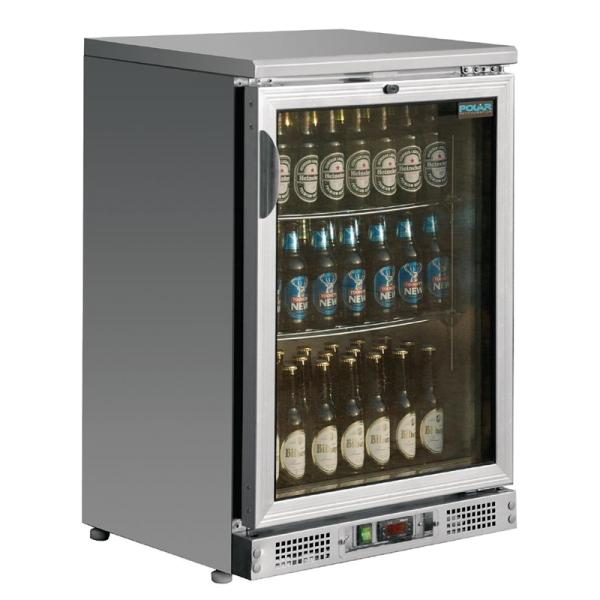 Barkühlvitrine mit 1 Glastüren140 Liter
